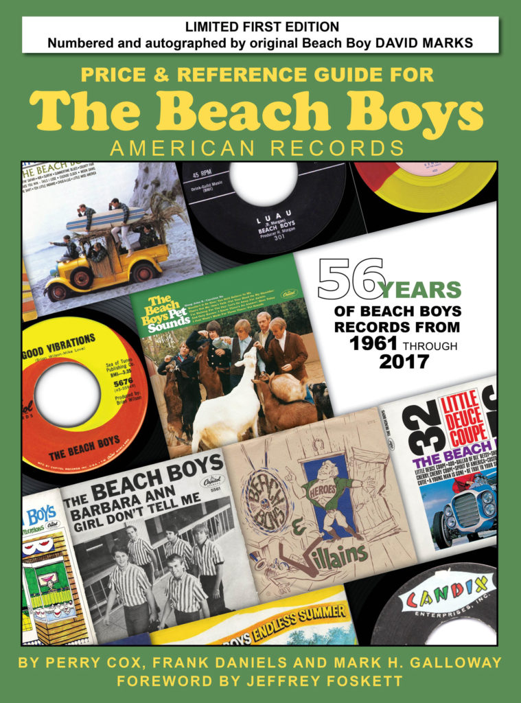Beach Boys American Records Price and Reference Guide