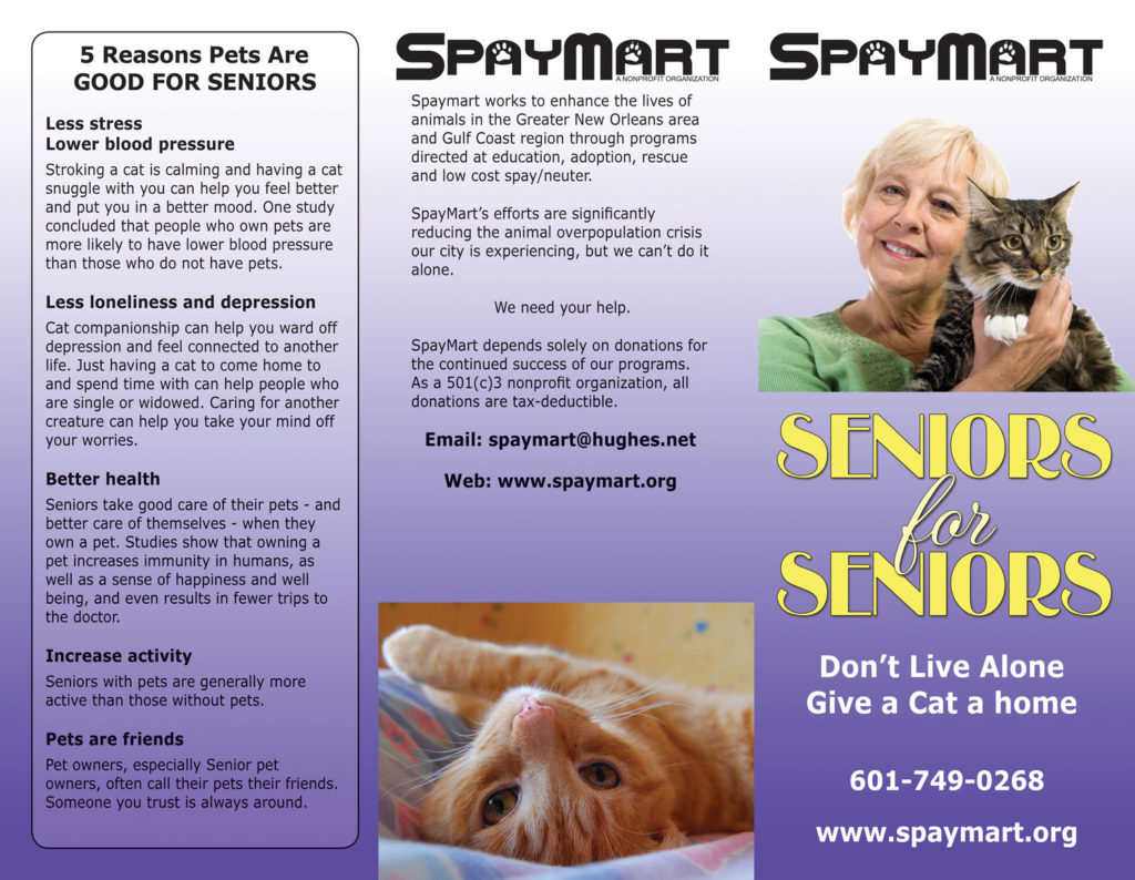 Spaymart Seniors for Seniors Brochure