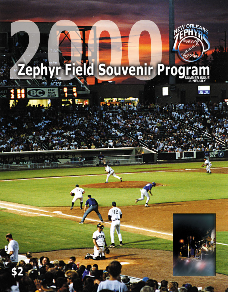 Zephyrs Baseball Souvenir Program