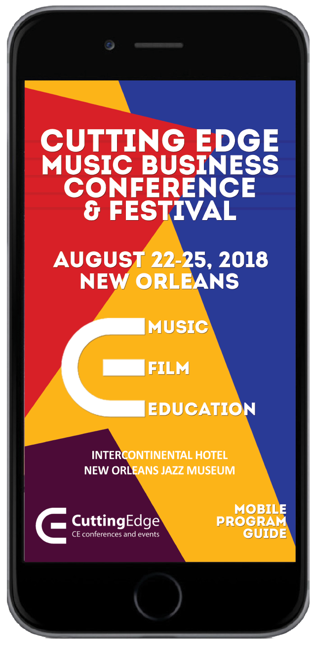Cutting Edge Music Business Conference Digital Event Guide